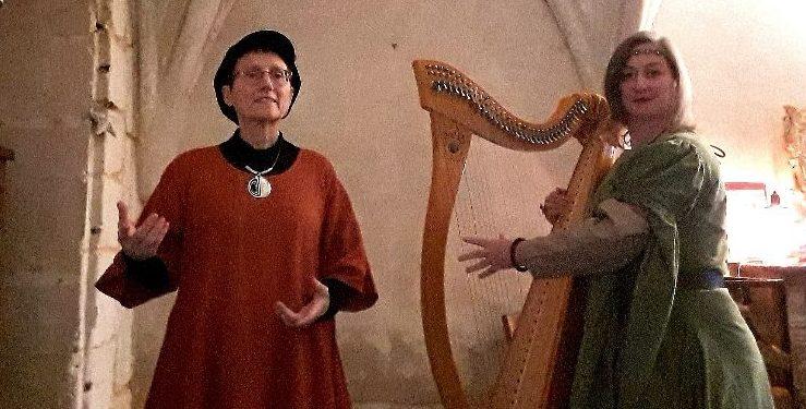 Si la harpe m'était contée